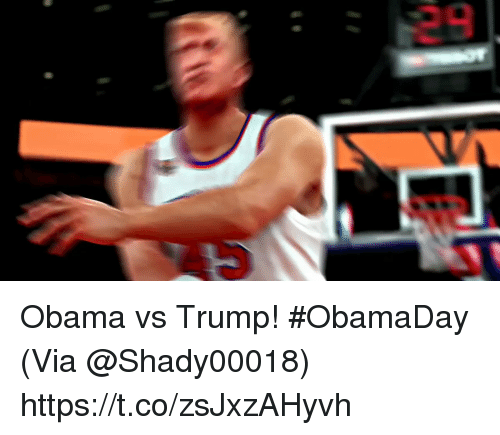 Obama Vs Trump: Obama vs Trump! #ObamaDay  (Via @Shady00018)   https://t.co/zsJxzAHyvh