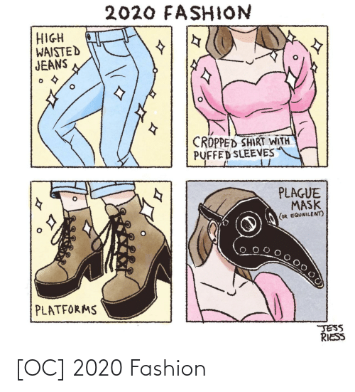 Fashion: [OC] 2020 Fashion