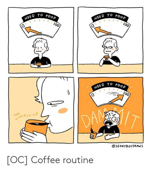 routine: [OC] Coffee routine