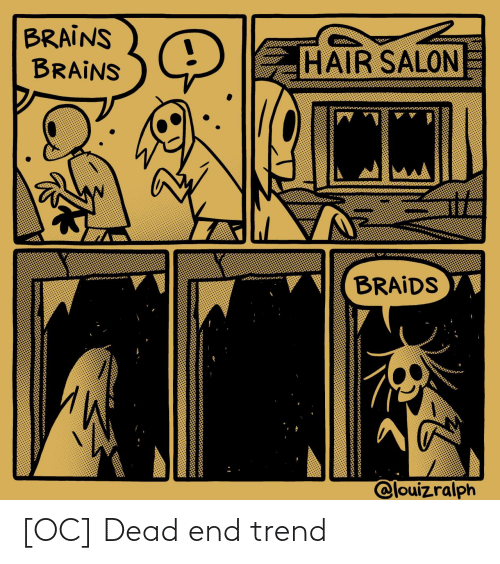 dead end: [OC] Dead end trend