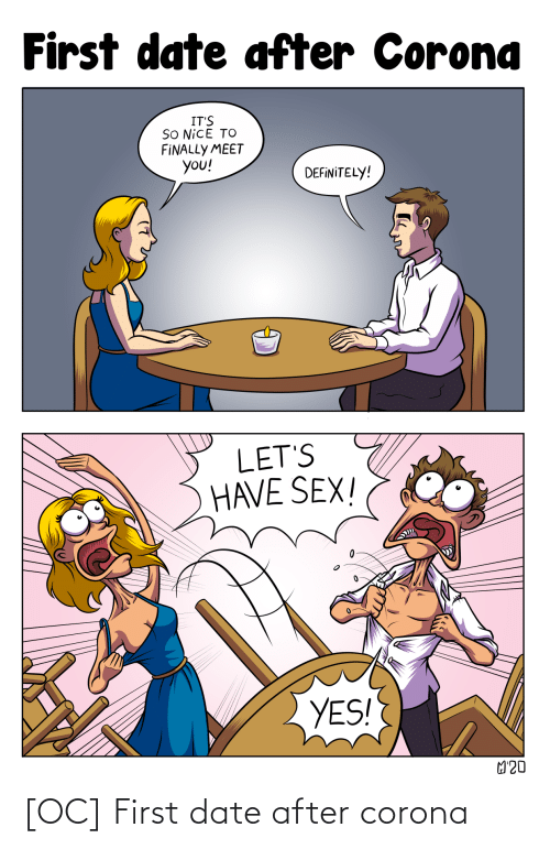 Date: [OC] First date after corona