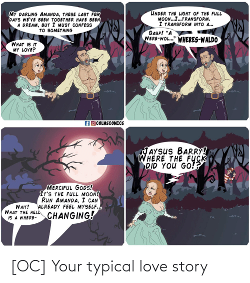 story: [OC] Your typical love story