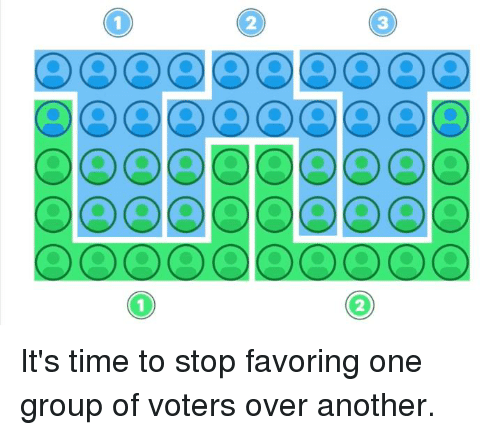 dcd: OCDCDCDCOCDCDCDCD  O) O) 000  3  2  (DO) O (00  2  _000  (0) (0) O 00  @DCD 000 It's time to stop favoring one group of voters over another.