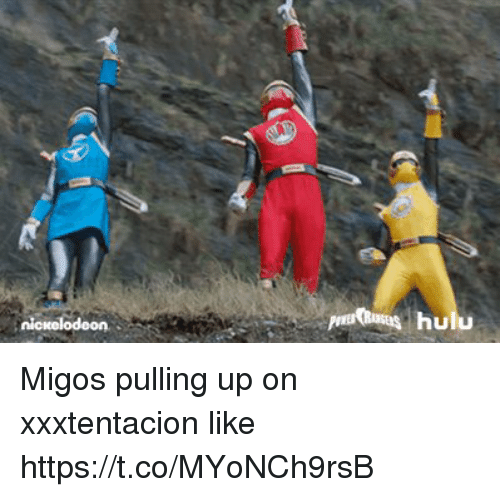 Memes, Migos, and 🤖: odeon Migos pulling up on xxxtentacion like https://t.co/MYoNCh9rsB