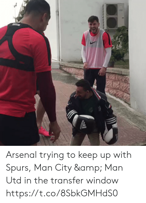 Spurs: Odidas Arsenal trying to keep up with Spurs, Man City & Man Utd in the transfer window  https://t.co/8SbkGMHdS0