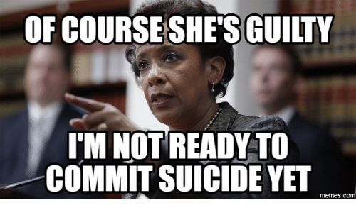 Suicide Watch Meme: OF COURSE SHE GUILTY  IM NOT READY TO  COMMIT SUICIDE YET  memes.COM