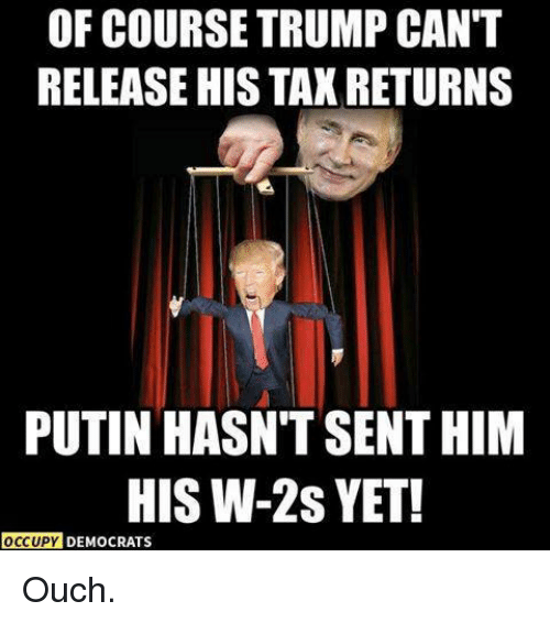 Funny Trump Tax Memes Of 2017 On Sizzle: Funny Ouch Memes Of 2017 On SIZZLE
