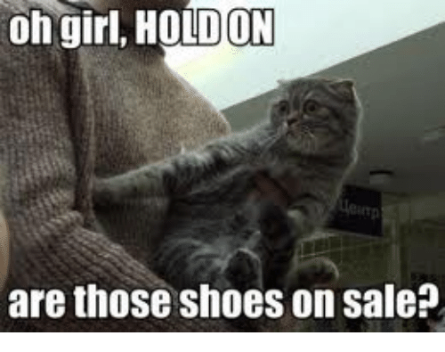 Oh Girl: oh girl, HOLDON  are those shoes on sale?