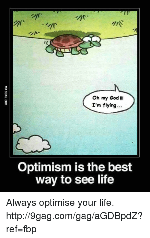 9gag, Dank, and God: Oh my God!!!  I'm flying  Optimism is the best  way to see life Always optimise your life. http://9gag.com/gag/aGDBpdZ?ref=fbp