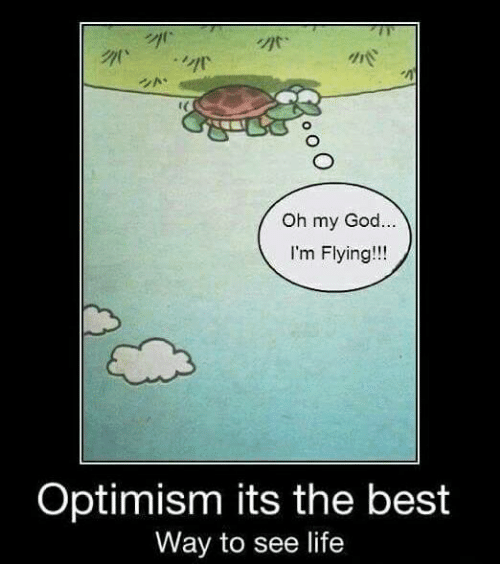 im flying: Oh my God  I'm Flying!  Optimism its the best  Way to see life