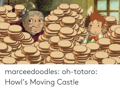 castle: OH-TOTORO marceedoodles: oh-totoro: ハウルの動く城 · Howl's Moving Castle