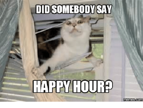 Did Somebody Say Meme: OIDSOMEBODYSAY  HAPPY HOUR?  Memes COM