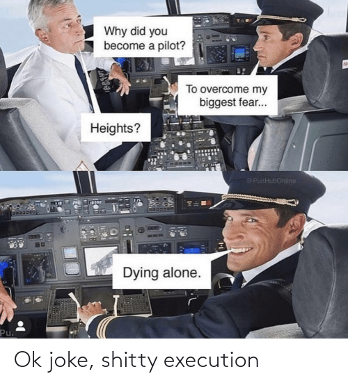 joke: Ok joke, shitty execution