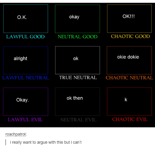 Lawful Neutral