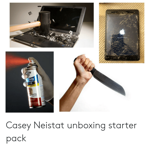 casey neistat: OLEUM  TERS  COVER  COVERAGE  PLASTIC  SATIN  paprika  PLASTIC  RIG Casey Neistat unboxing starter pack