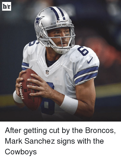 Broncos: omens see  1 1/ LOOS  1-0-0-4-4ム After getting cut by the Broncos, Mark Sanchez signs with the Cowboys