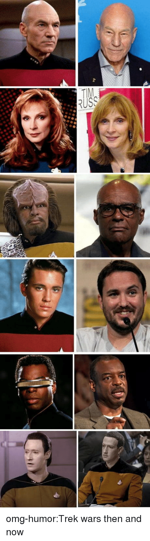 then and now: omg-humor:Trek wars then and now
