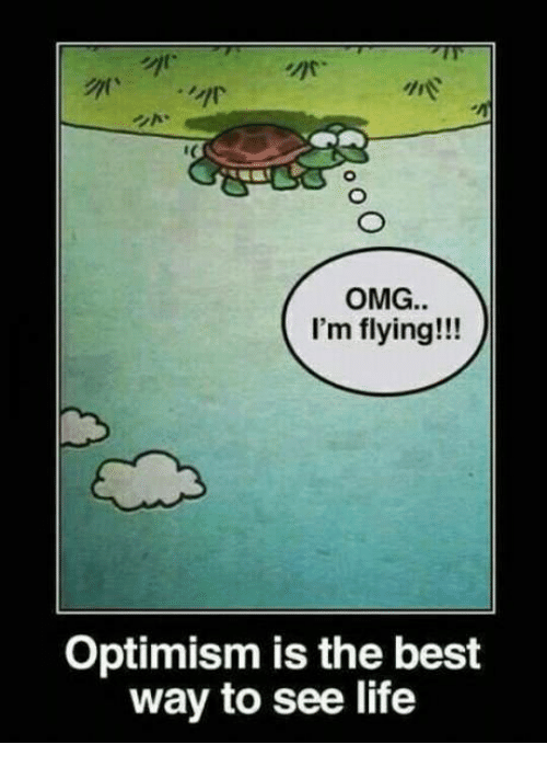 Best Way To Decorate Your Living Room: OMG I'm Flying!!! Optimism Is The Best Way To See Life