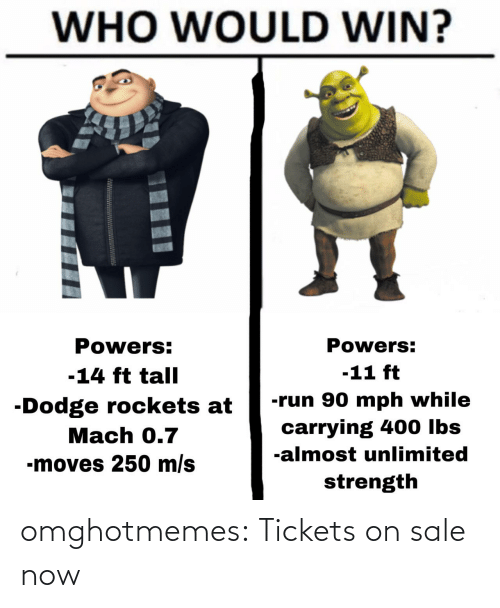 tickets on sale: omghotmemes:  Tickets on sale now