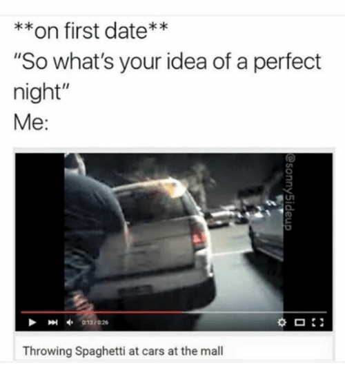 Whats a good first date