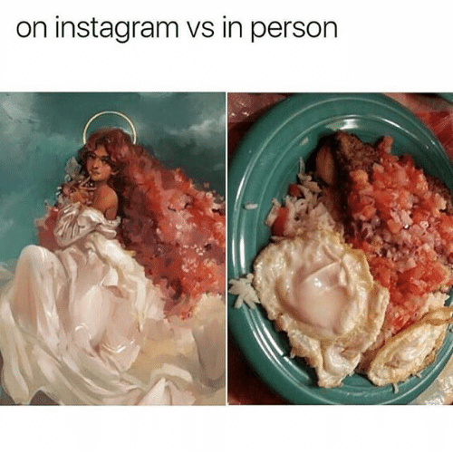 Instagram, Memes, and 🤖: on instagram vs in person