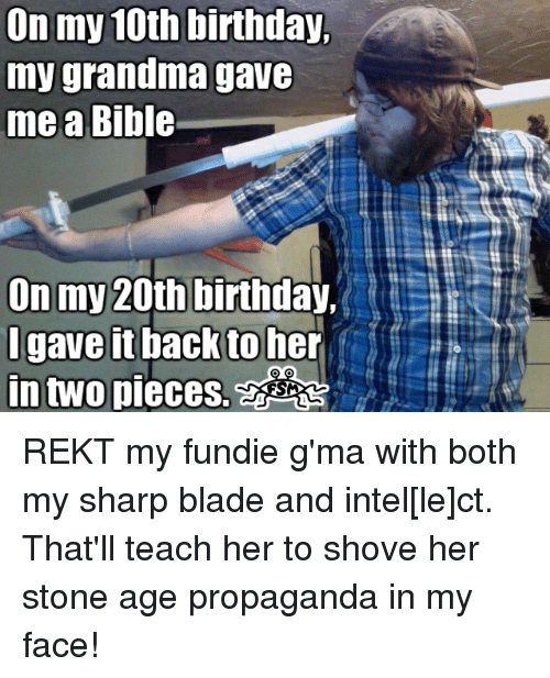 Funny Birthday Meme For Grandma : Funny blade memes of on sizzle