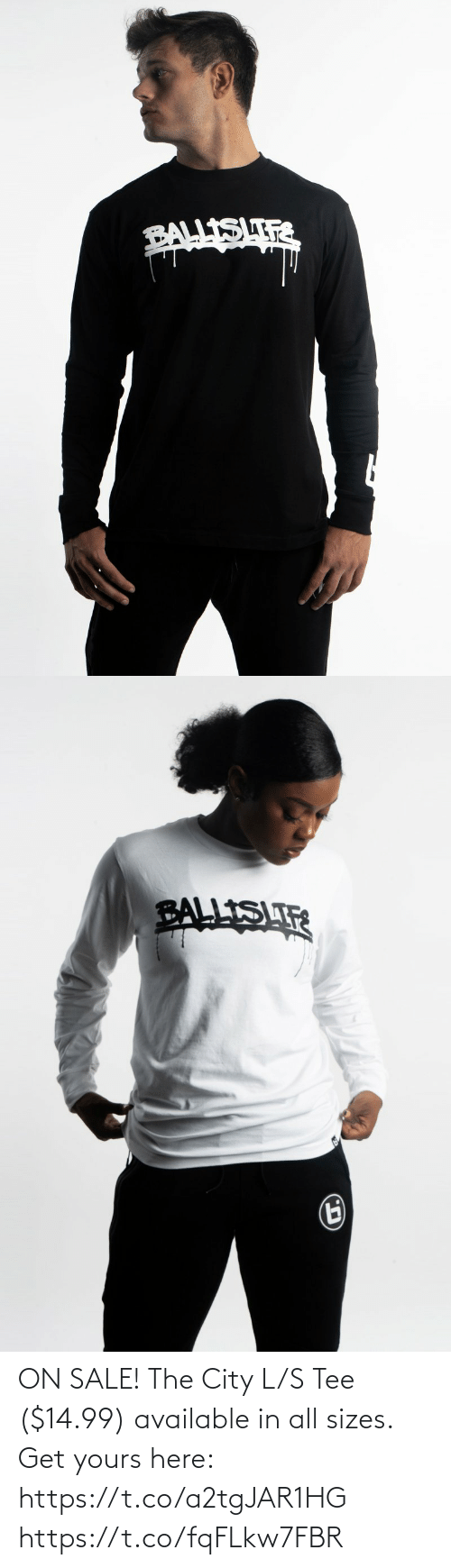 tee: ON SALE! The City L/S Tee ($14.99) available in all sizes.  Get yours here: https://t.co/a2tgJAR1HG https://t.co/fqFLkw7FBR