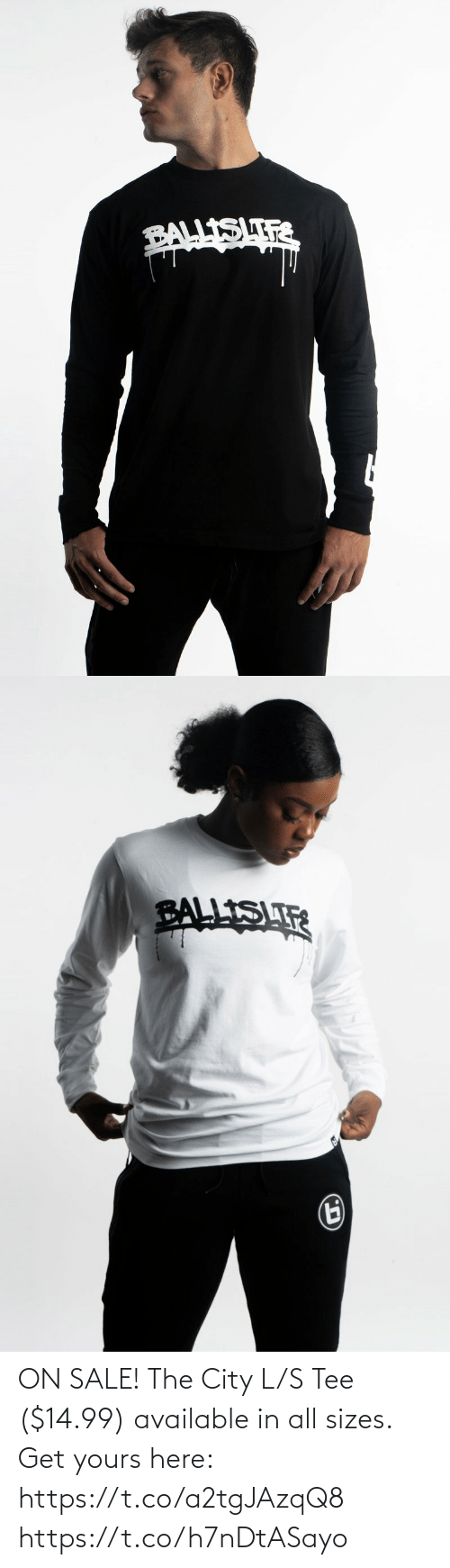 tee: ON SALE! The City L/S Tee ($14.99) available in all sizes.  Get yours here: https://t.co/a2tgJAzqQ8 https://t.co/h7nDtASayo