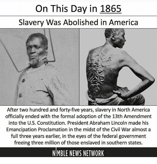 abraham lincoln abolished slavery during his presidency Important americans: abraham lincoln  the 16th president of the united states during his time in  abolished slavery and fundamentally changed the role of.