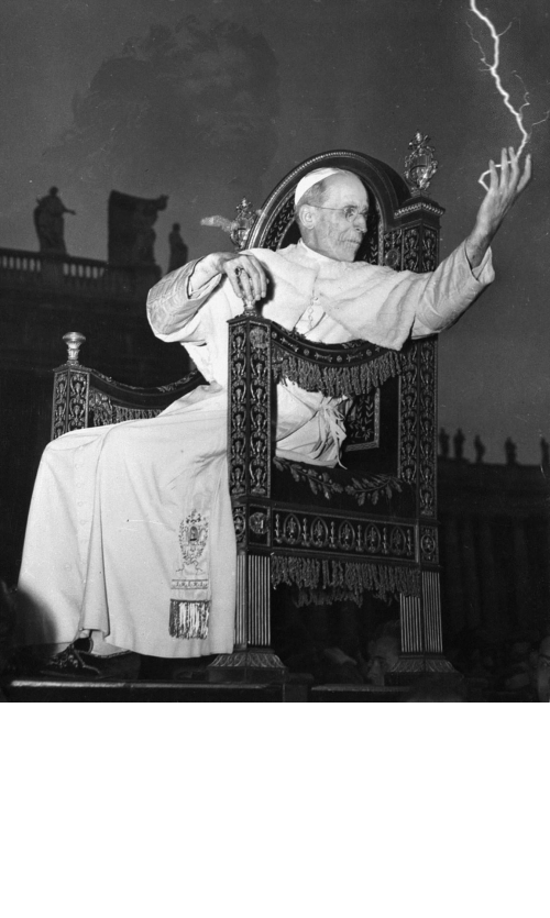 Distance: On this day in 1942, Pope Pius XII performs a long-distance exorcism on Adolf Hitler