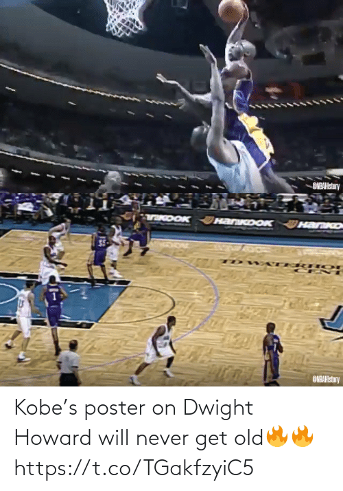Howard: ONBAHistory   TKDOK HanKoOK  HanKo  ONBAHistory Kobe's poster on Dwight Howard will never get old🔥🔥 https://t.co/TGakfzyiC5