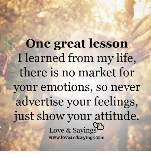 Famous Quotes About Life Lessons 2: Funny Attitude Memes Of 2016 On SIZZLE