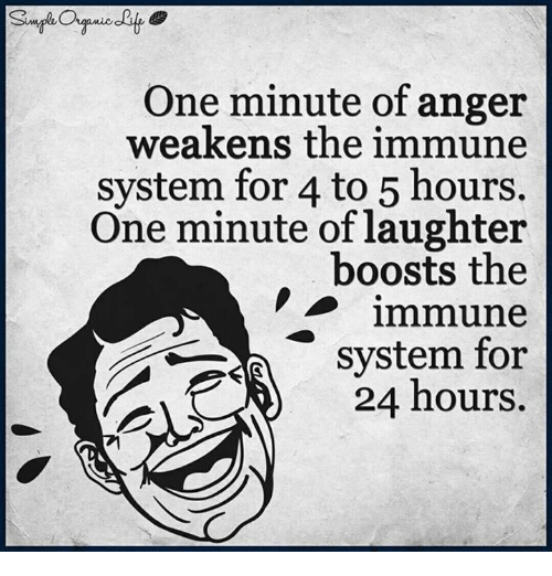 one minute of anger weakens the immune system for 4 4925310 one minute of anger weakens the immune system for 4 to 5 hours one