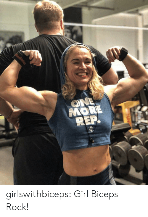 One More: ONE  MORE  REP. girlswithbiceps:  Girl Biceps Rock!