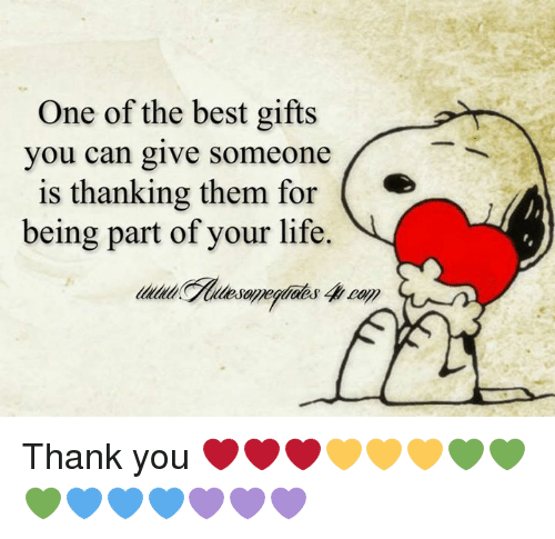 Thank You Quotes For Giving Gifts: One Of The Best Gifts You Can Give Someone Is Thanking