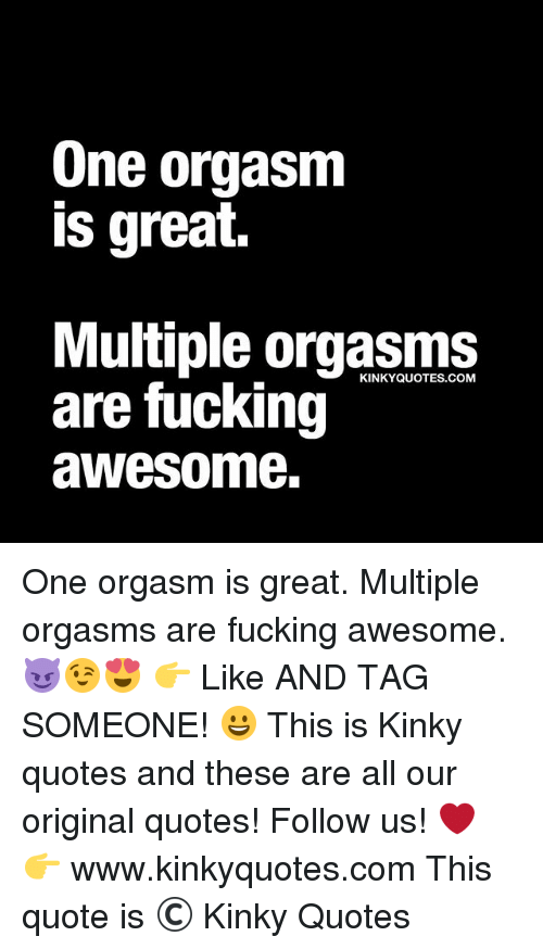 Awesome multiple orgasm