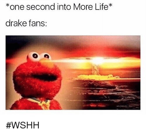 Hood, Drakes, and  Seconds: *one second into More Life  drake fans: #WSHH