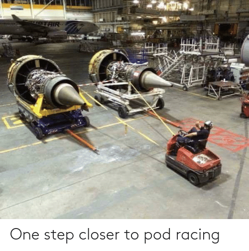 pod: One step closer to pod racing