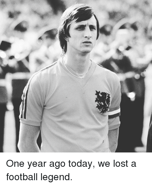 Memes, 🤖, and Legend: One year ago today, we lost a football legend.