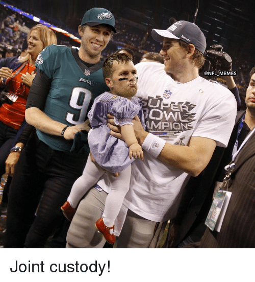Memes, Nfl, and Joint: ONFL MEMES  MPION Joint custody!