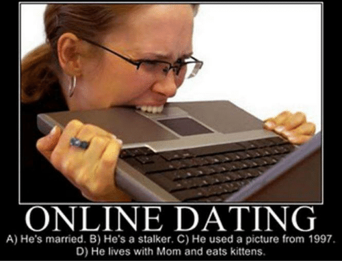 Online dating married