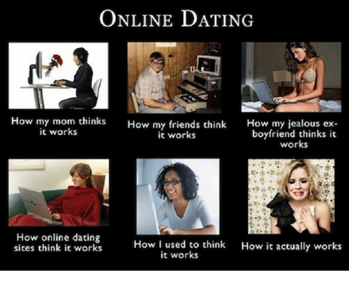 Boyfriend using online dating sites