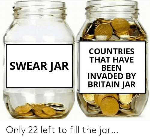 jar: Only 22 left to fill the jar…