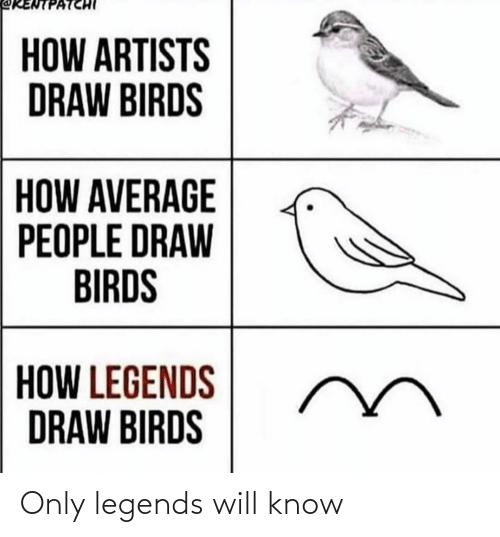 legends: Only legends will know