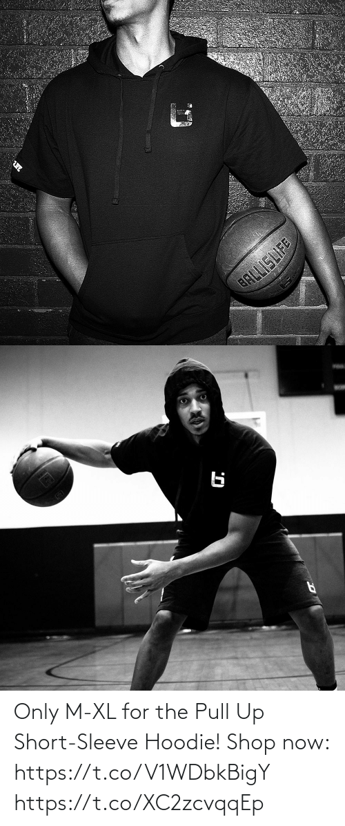 hoodie: Only M-XL for the Pull Up Short-Sleeve Hoodie!  Shop now: https://t.co/V1WDbkBigY https://t.co/XC2zcvqqEp