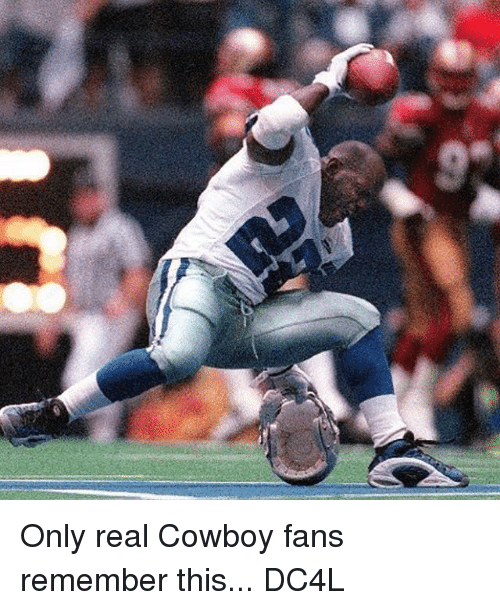 Real Cowboy: Only real Cowboy fans remember this... DC4L