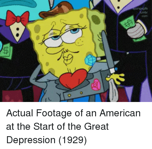 Great Depression: onng Actual Footage of an American at the Start of the Great Depression (1929)