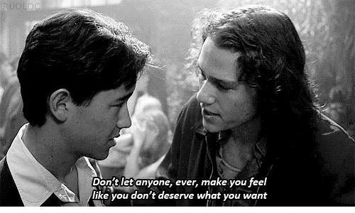 what you want: on'tlet anyone, ever, make you feel  like you don't deserve what you want