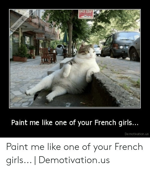 Paint Me Like A French Girl: ONUR KEBAP  Paint me like one of your French girls..  De motivation.us Paint me like one of your French girls... | Demotivation.us