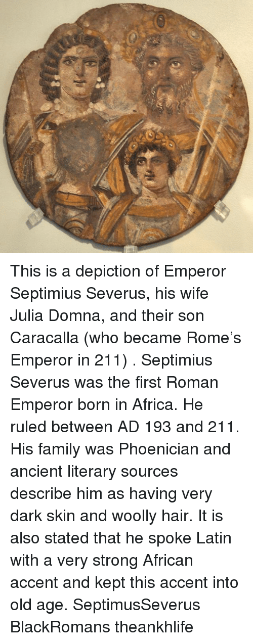 septimius severus and his rule of How can the answer be improved.